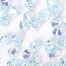 4mm Swarovski 5328 Xilion Light Azore AB - 50